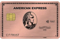 American Express Gold Card Table