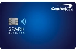 Capital One Spark Miles Business Credit Card Table